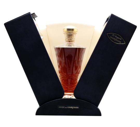 Some of the vintages used in Courvoisier L'Espirit date back to the Napoleonic era