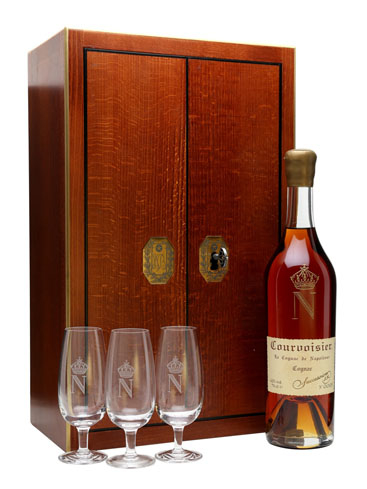 Some of the vintages used to make the Courvoisier Succession J.S. date back to the Napoleonic era