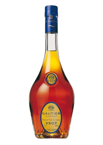 Gautier Cognac VSOP displays aromas of vanilla and notes of fruit