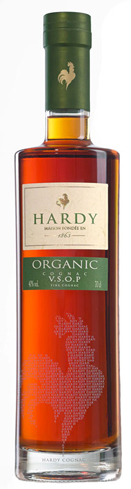 Hardy VSOP Organic Cognac is fresh, smooth and celebrates the environment