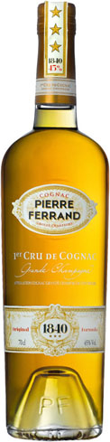 Pierre Ferrand Original Formula was inspired by an 1840 bottle of Pinet Castillon