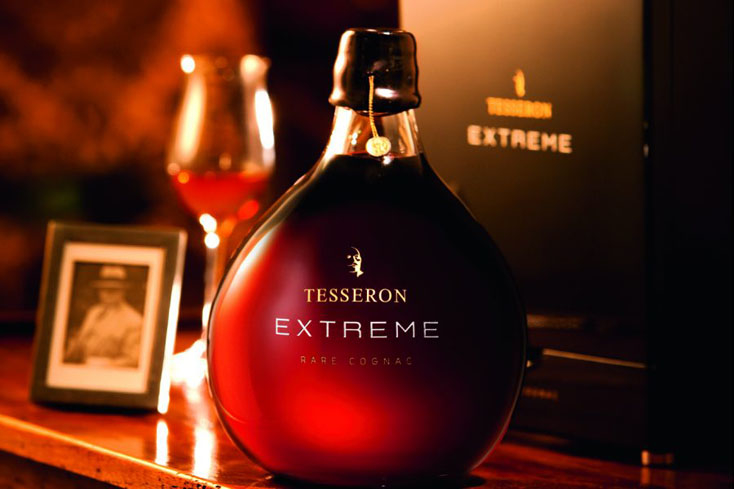 Tesseron Extreme Cognac is velvety with mellow yet complex flavors