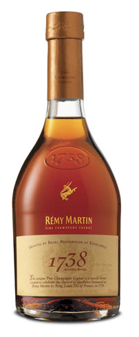 Rémy Martin 1738 Accord Royal is both complex and fine, with a bouquet of plum, fig and creamy toffee