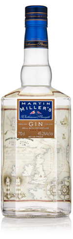 Martin Miller's Westbourne Strength Gin is distilled in a hundred-year-old copper still
