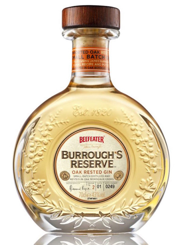 Beefeater Burrough's Reserve Gin has juniper and citrus flavors
