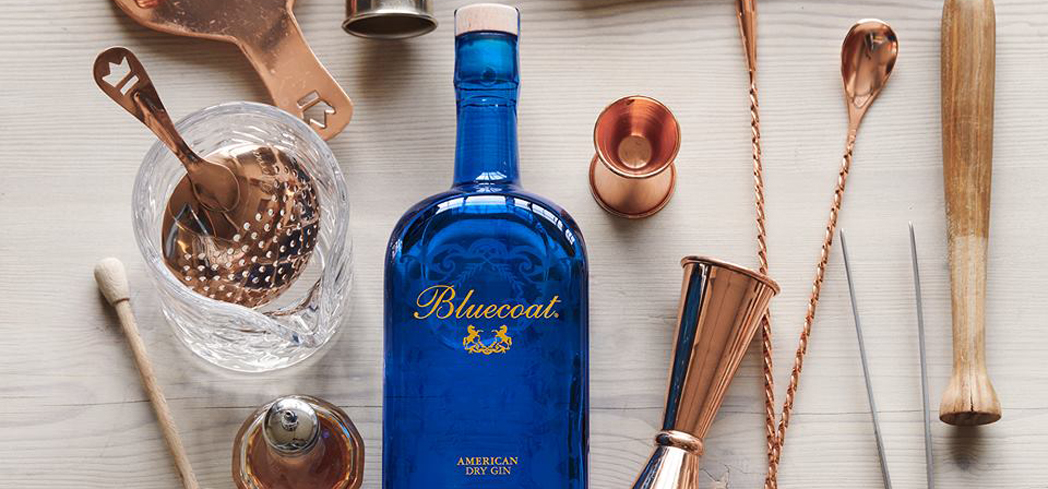Bluecoat American Dry Gin has a sweeter, citrus finish