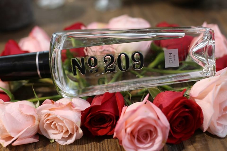 No. 209 Gin is fresh, floral and fragrant