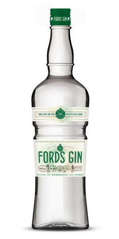 Fords Gin has a balanced foundation of juniper and citrus