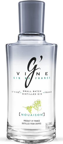 G'Vine Nouaison Gin has aromas of mint, almond and menthol