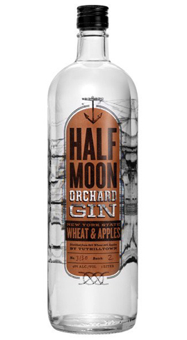 The base spirit is a unique blend of 80 percent wheat and 20 percent apples