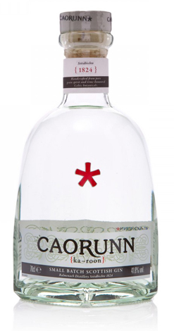 Caorunn Gin is made from hand-foraged plants