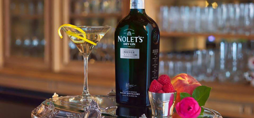 Nolet's Silver Gin contains botanicals such as Turkish rose, peach and raspberry