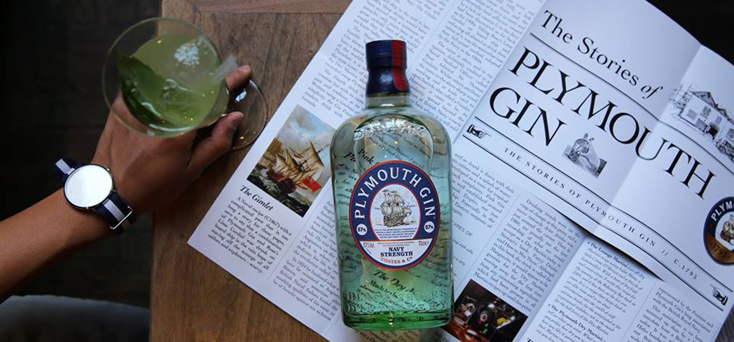 Plymouth Original Gin has a distinctive smooth taste and hints of spice