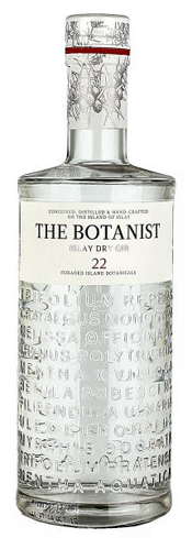 The Botanist Islay Dry Gin hails from Bruichladdich Distillery in Scotland