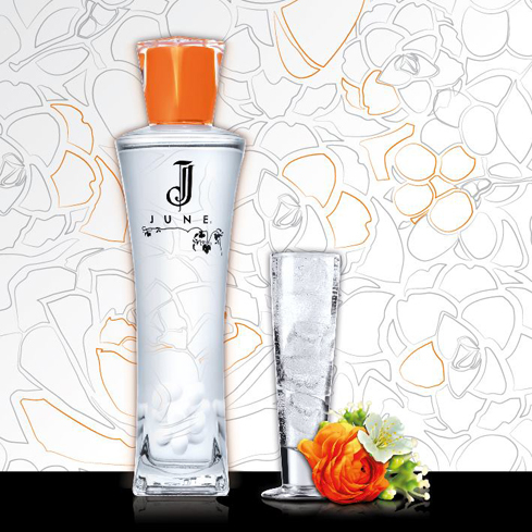 June Liqueur is made from neutral grape spirit infused with aromatic vine flowers