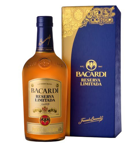 Bacardi Reserva Limitada is a combination of the finest Bacardi rums