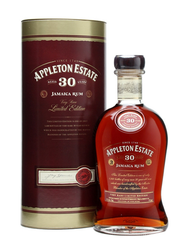 Appleton Estate 30 Year Old has notes of maple and orange