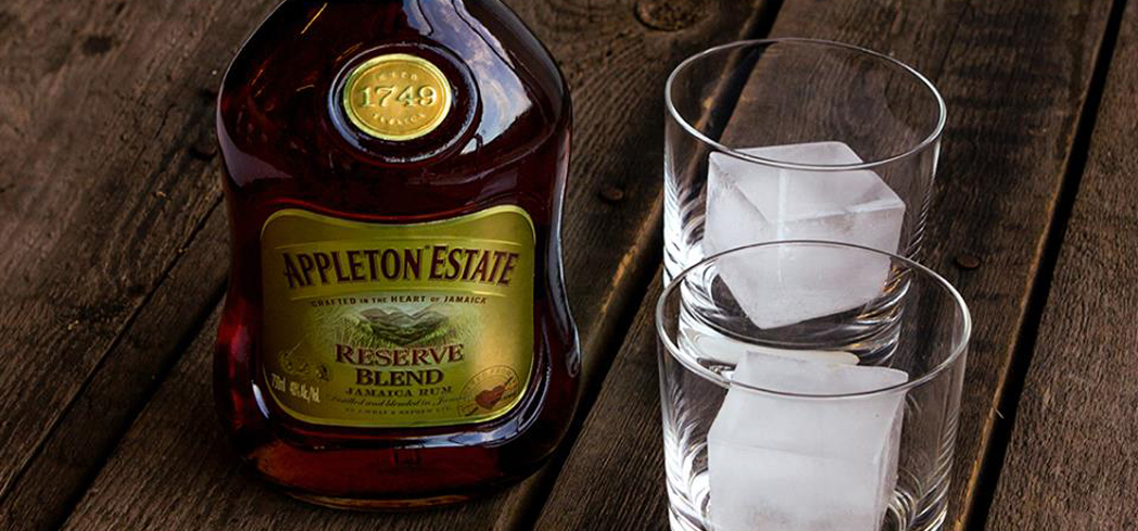 Appleton Estate Reserve Blend is a non-vintage blend of 20 aged rums