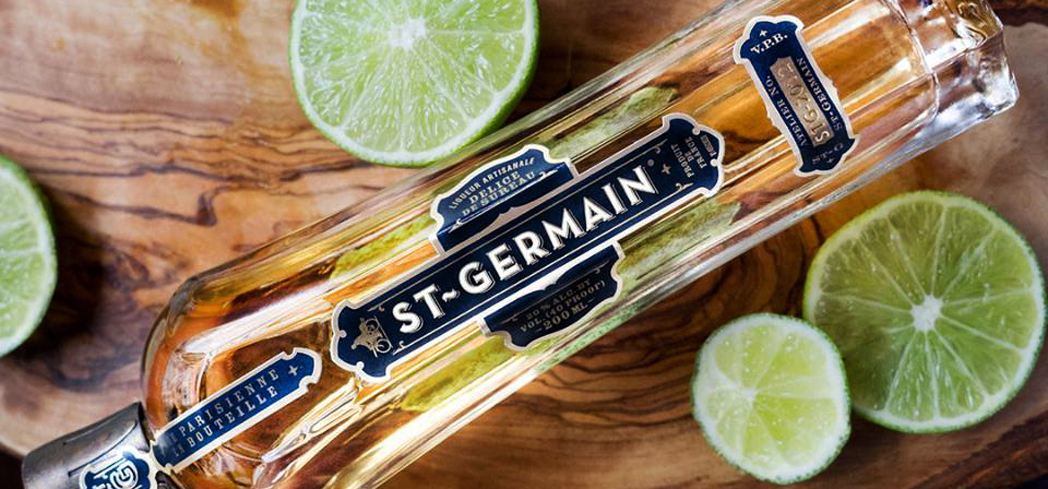 St-Germain Elderflower Liqueur is velvety smooth with a floral nose