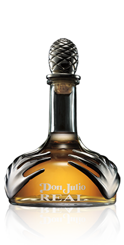 Tequila Don Julio Real has flavors of vanilla with an oak finish