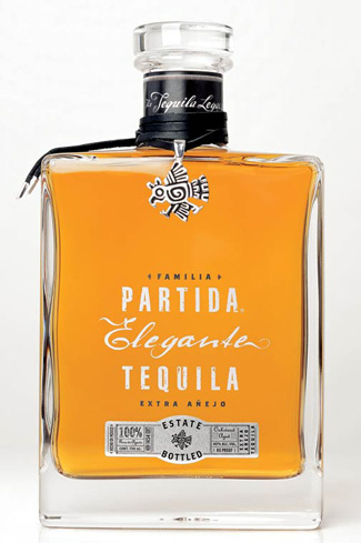 Partida Tequila Elegante is aged in American oak barrels