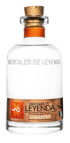 The Mezcales de Leyenda Guerrero is crafted from agave cupreata