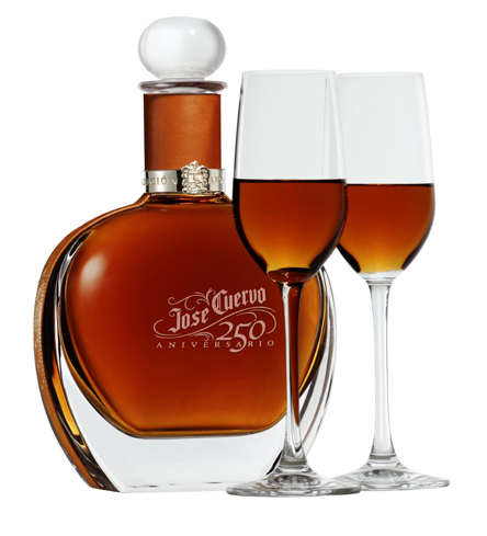Jose Cuervo 250 Aniversario is a blend of the most select tequilas in the family's reserves
