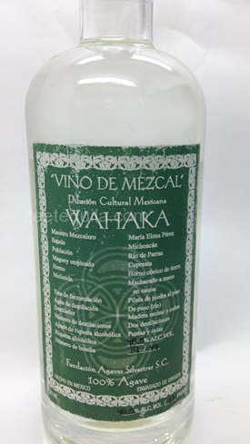 Wahaka Vino de Mezcal Michoacan Capriatos is limited to only 44 bottles