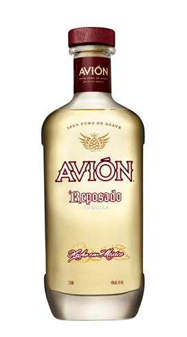 Avión Reposado Tequila has flavors of sweet flowers and ripe fruits