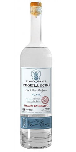 Tequila Ocho Silver smells rich and balanced
