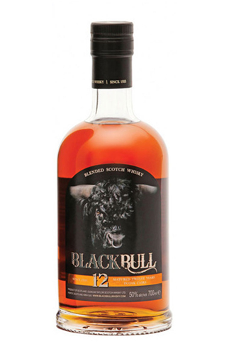 Black Bull 12 Year Old features a 50 percent grain and 50 percent barley mash