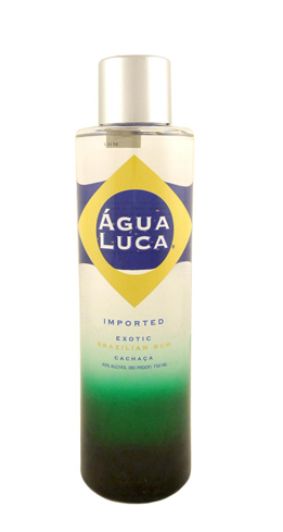 Água Luca will add zing to your tropical concoctions
