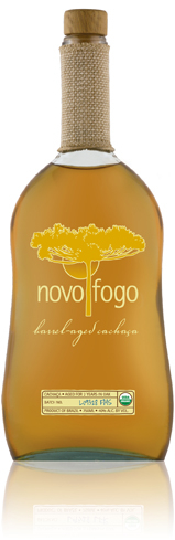 Novo Fogo Barrel Aged is best paired with vanilla ice cream