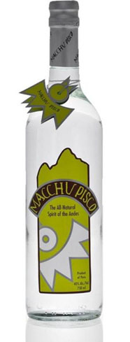 A pure spirit from Peru, Macchu Pisco is made from foot-pressed, top quality Quebranta grapes