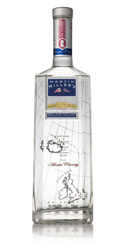 Martin Miller's London Dry Gin is an artisanal blend of high-quality botanicals and Icelandic water