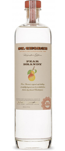St. George Pear Brandy is a fruit-forward eau de vie from California
