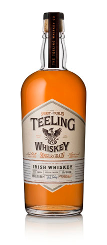 Teeling Single Grain Irish Whiskey is complex and flavorful