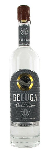 Beluga Gold Line Russian Vodka contains malt spirit, rice extract and rhodiola rosea extract