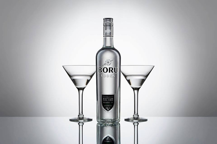 Boru Vodka is a handcrafted Irish vodka