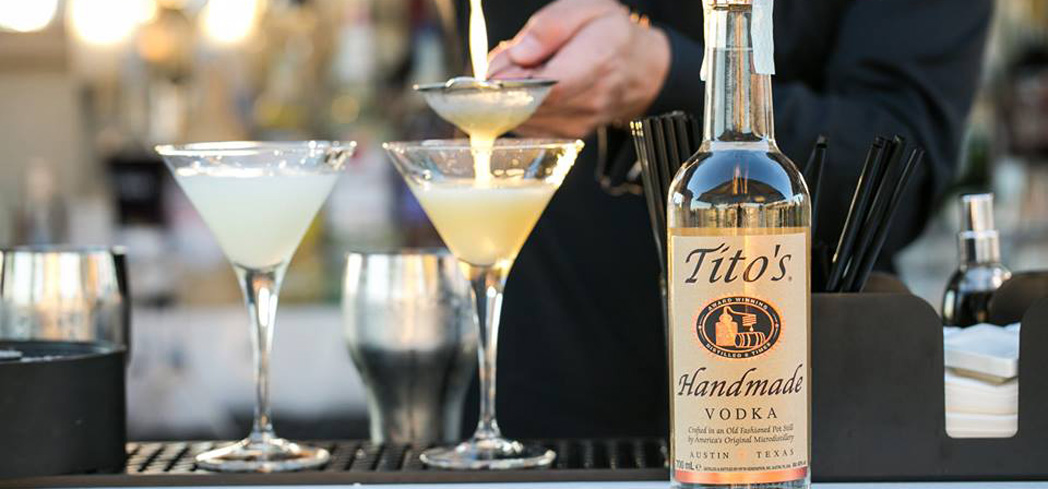 Tito's Handmade Vodka is crisp and fresh-tasting