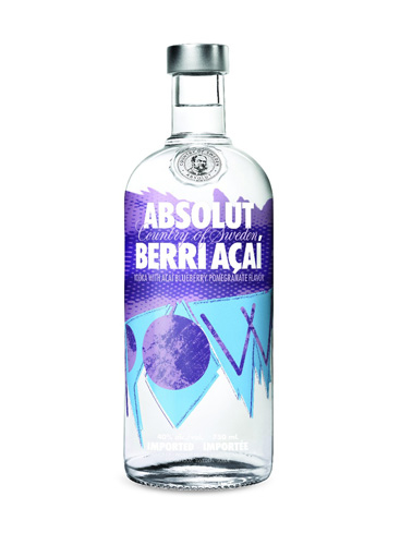 Absolut Berri Açaí is infused with a variety of fruits from around the world