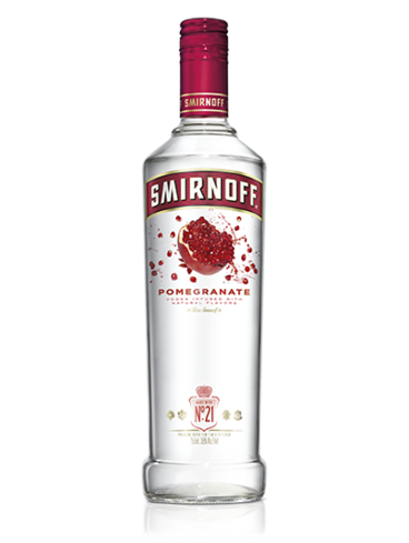 Smirnoff Pomegranate is the perfect blend of sweet and tart