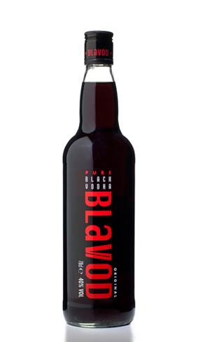 Blavod Original Black Vodka is made with an herb called black catechu