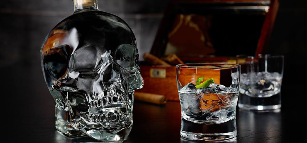 Crystal Head Vodka undergoes a unique diamond filtration process