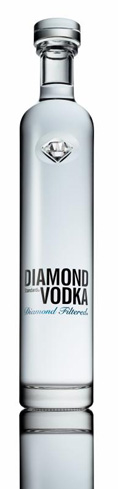 Diamond Standard Vodka is a pure-grain Polish export made from rye