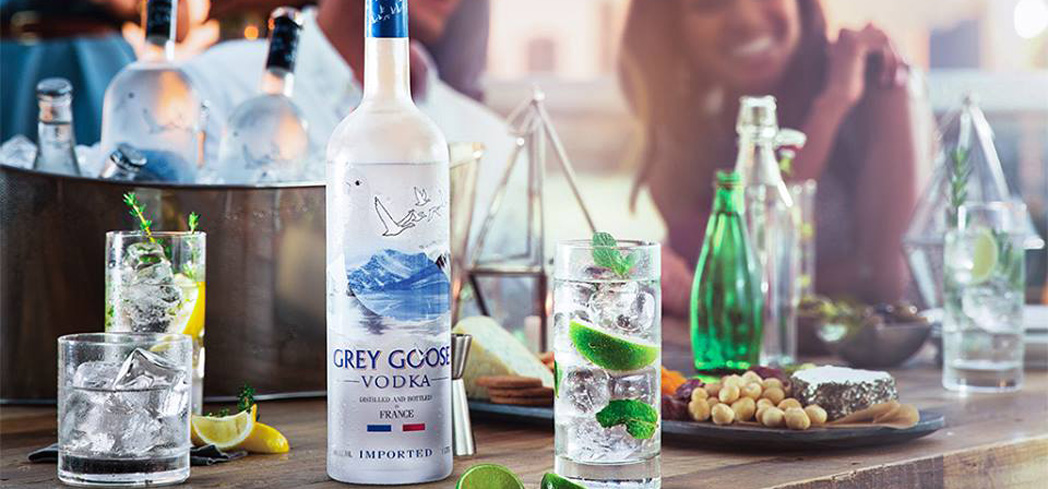 Grey Goose is made from wheat grown in the Picardy region of France