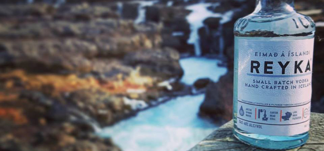 Reyka Vodka is made from Icelandic water