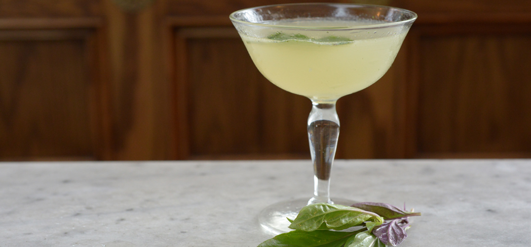 Poison Ivy is made with lime juice and absinthe, giving the cocktail a fresh yet powerful flavor
