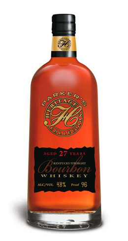 Parker's Heritage Collection 27-Year-Old Small Batch has flavors of vanilla, toffee and apricot