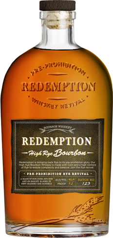 Redemption High Rye Bourbon has a very rich palate of deep, dark fruits